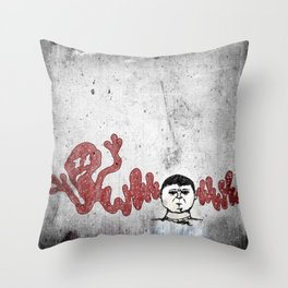 Warped Thoughts Throw Pillow