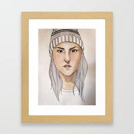 Toque Framed Art Print