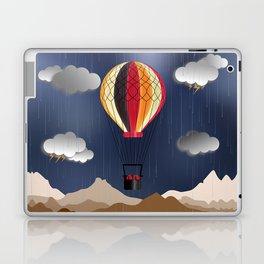 Balloon Aeronautics Rain Laptop & iPad Skin