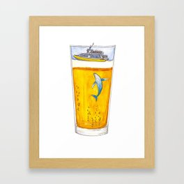 Adventure Cup Framed Art Print