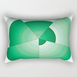 36 Green tones Rectangular Pillow
