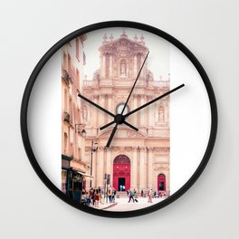 Saint-Paul Saint-Louis Church - Le Marais, Paris Wall Clock