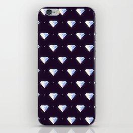Diamonds pattern iPhone Skin