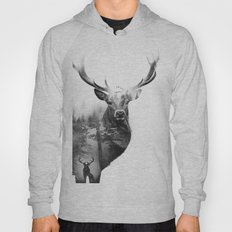 Deer in the woods Hoody