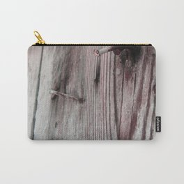 Rusty timber Carry-All Pouch