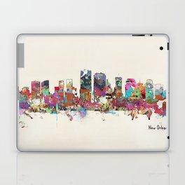 New Orleans Louisiana skyline Laptop & iPad Skin