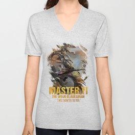League of Legends MASTER YI - The Wuju Bladesman - video games champion Unisex V-Neck