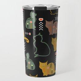 Cat decor Travel Mug