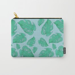 philodendron leaf pattern Carry-All Pouch