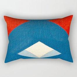 Lucha Libre Mask 3 Rectangular Pillow
