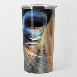 Horse Blue Watch Eye Travel Mug