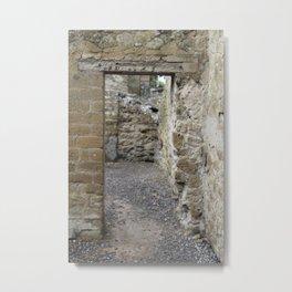 Doorway. Metal Print
