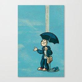 The Li'l Depressed Boy:  Lonely Heart Blues Canvas Print