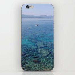 Deep blue sea... iPhone Skin
