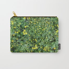 Clover Field Carry-All Pouch