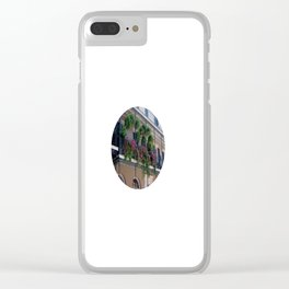 New Orleans Florals Clear iPhone Case