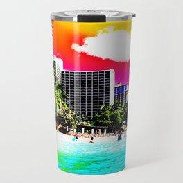 Waikiki Beach Part II Travel Mug
