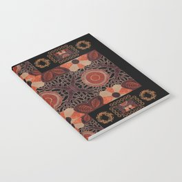 Gilded Autumn - Gilded Sunset Branches Notebook