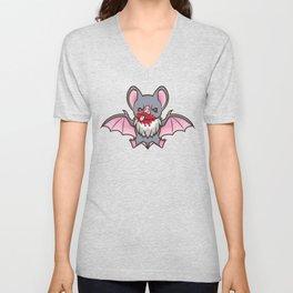 Vampy Bat Unisex V-Neck