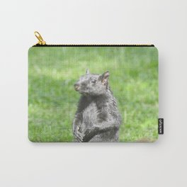 Squirrely Intentions Carry-All Pouch