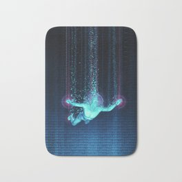 Virtual Reality Diver Bath Mat