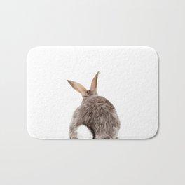 Bunny back side Bath Mat