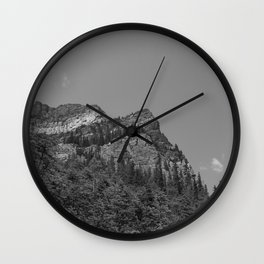 Lake Louise Saddleback 3 Wall Clock