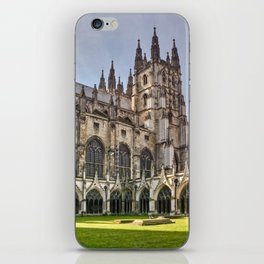Canterbury Cathedral - England iPhone Skin