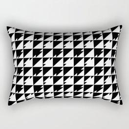 Triangle Dash Rectangular Pillow