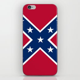 Confederacy Battle Flag Of Virginia iPhone Skin