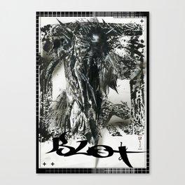 Blot Canvas Print