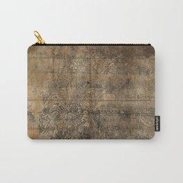 Map of Mount Wutai (1846) Wutaishan sheng jing quan tu Carry-All Pouch