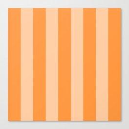 Sherbet Stripes Canvas Print