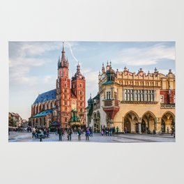 Cracow Main Square art Rug