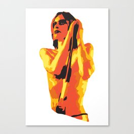 Iggy #3 Canvas Print