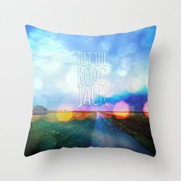 Hit The Road, Jack Throw Pillow