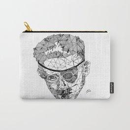 James Joyce - Hand-drawn Geometric Art Print Carry-All Pouch