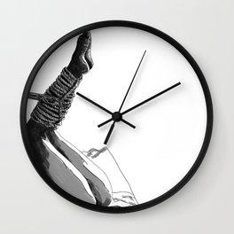 Shibari art Wall Clock