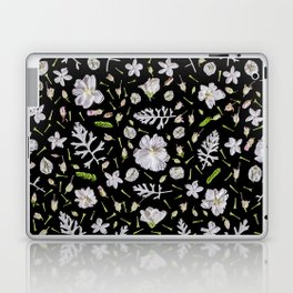 Leaves and flowers (10) Laptop & iPad Skin