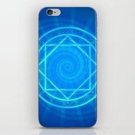Magic circle of energy, Dr. Strange fanart iPhone Skin