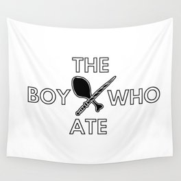 The Boy Who Ate - Wand and Chicken Crest Wall Tapestry