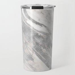 Castello silver marble Travel Mug