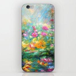 Roses paint  iPhone Skin