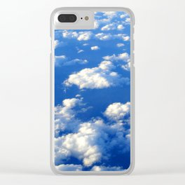 Blue Blue Sky by Lika Ramati Clear iPhone Case