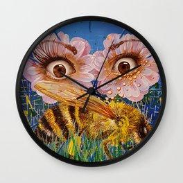 Rumors Of Spring Wall Clock