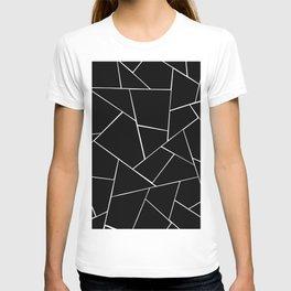 Black White Geometric Glam #2 #geo #decor #art #society6 T-shirt