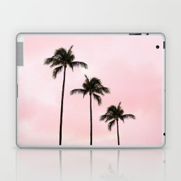Palm Tree Photography Peach | Blush Pink | Millennial Pink | Miami Laptop & iPad Skin