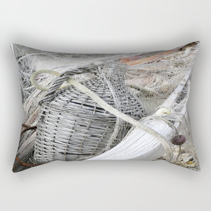 Old decanter Rectangular Pillow