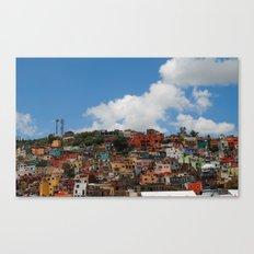 Colorful City Canvas Print