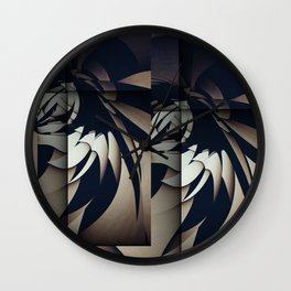 Spread our Wings Wall Clock